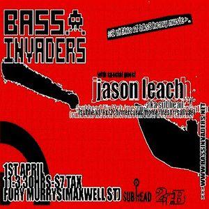 Jason Leach aka Subhead (Live PA) @ Bass Invaders - Fury Murrys Glasgow - 01.04.2005