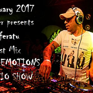 RAVE EMOTIONS RADIO SHOW (13RaVeR) - 01.02.2017. Nosferatu Guest Mix @ RAVE EMOTIONS