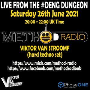 VIktor Van Stroomf / DJ Smurf - Method Radio 26/06/2021