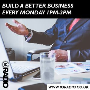 Build a Better Business with Mucha Murapa on IO Radio 180917