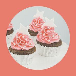 Zouk Flea ♥ Easy Sunday Deep Chocolate Brownie Make-a-Wish Cupcakes