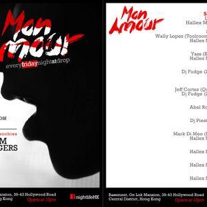 Hallex M @ Mon Amour Launch party at Drop Club (Sept 14th)