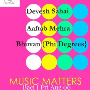d.fy Live at Baci, New Delhi