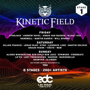 Showtek - Live @ kineticFIELD EDC Las Vegas (USA) 2017.06.18.