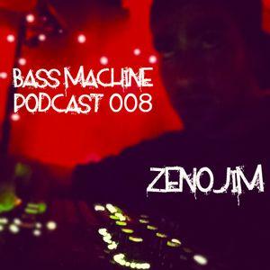 Bass Machine Podcast 008 : ZENOJIM (Seattle)