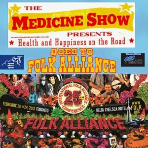 The Medicine Show goes to Folk Alliance 2013