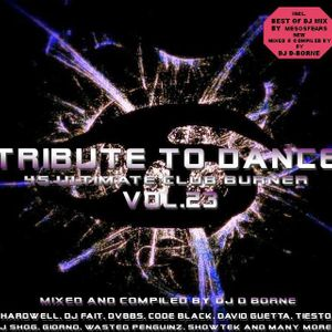 Tribute To Dance Vol.23 (Tornado Mix) mixed & compiled by DJ D-Borne