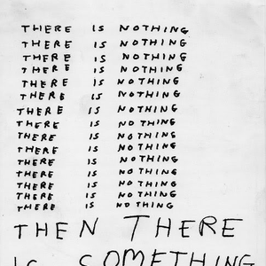 There is nothing then there is something mix