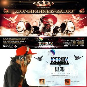 Freestyle Friday With Icebox International  DJ 3D on Zionhighness.com March 14, 2014