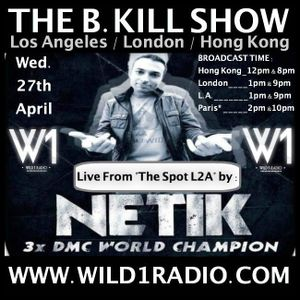 """Dj Netik - Live From """"The Spot L2A"""" hosted by Dj B-Kill"""