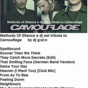 Methods of Silence a tribute dj set to Camouflage