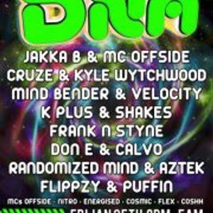 DNA Event friday 25th jan 9pm til 10pm set dj flippzy b2b dj puffin (buddha black)