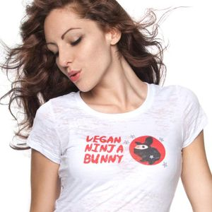 Meet the Vegan Ninja Bunny - fruitarian and educator on all things vegan