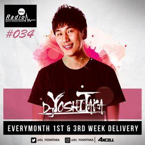 Axcell Radio Episode 034 - DJ YOSHITAKA