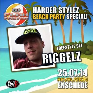 Riggelz warm up mix beachparty flax factor 25-7-14