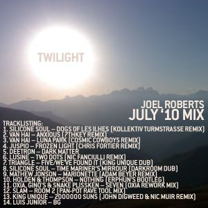 July '10 Mix - 'Twilight'