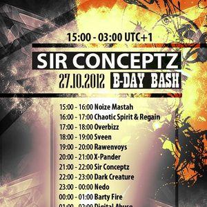 Noize Mastah @ Sir Conceptz B-Day BASH