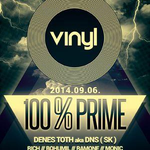 100 % Prime - Vinyl Club live by Reibina