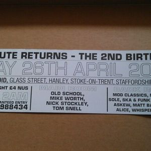 Classic 91 Old School Set Live @ Substitute (the void, stoke on trent)