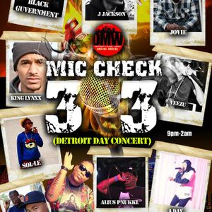 Mic Check 313 - Artist Performance Sets