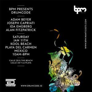 Adam Beyer @ The BPM Festival 2014 - Drumcode Showcase (11-01-14)