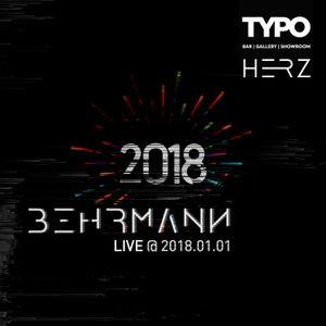 Nick Behrmann - Live @ Typo Bar X Herz NYE party 2017-12-31