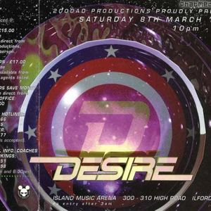 DJ Hype with MCs 5ive 0 & Fearless Desire 8th March 1997