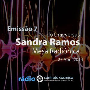 Emissão 7 - Mesa Radiónica com Sandra Ramos // Rádio Contrato Cósmico