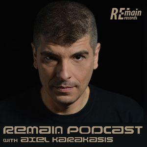 Remain Podcast 88 with Axel Karakasis (Live from Club Duala, Ravensburg)