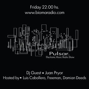 PULSAR - DJ JUAN PYOR - 31.08.12 - BIOMARADIO.COM