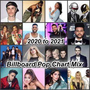 2020 to 2021 Billbord Pop Chart Mix