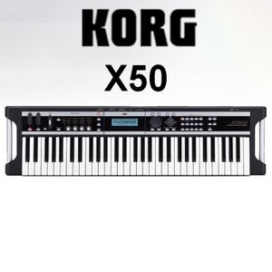 Korg X50 Testing Sound 22nd of December, 2007