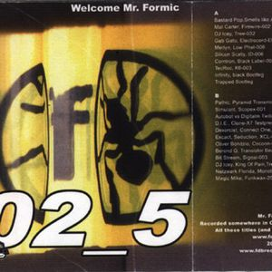Electro-Mixtape from 2003 for fdb Records (France). B side.