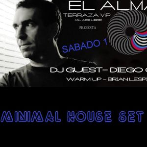 Brian Lespio @ El Alma Pinamar Warm Up For/Para Diego Cid