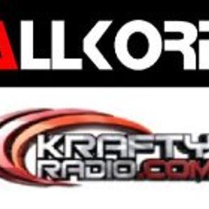 DANIEL SEVEN at the Allkore Riot Show on Kraftyradio (Guest DJ Set) - 27.04.2012