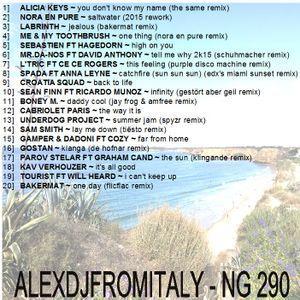 ALEXDJFROMITALY - NG290 tropical house, deep & nu disco 2015