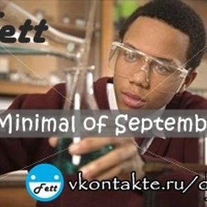 Dj Fett - Minimal Of September