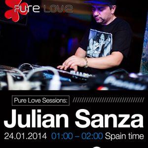 Julian Sanza Session - Ibiza Global Radio 24-1-2014 Deep 'n Tech DJ Set