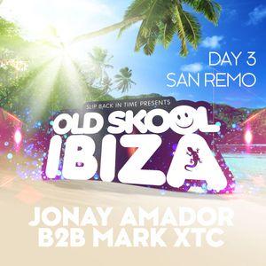 Jonay Amador B2B Mark XTC - Old Skool Ibiza @ San Remo Hotel Poolside 20-05-2019