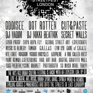 DJ NIKKI BEATNIK 'STREETFEST' 2013 MIX