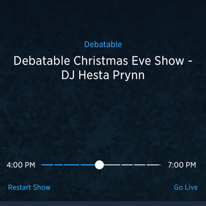 Hesta Prynn Holiday Mix on Sirius