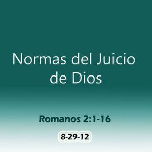 Normas del Juicio de Dios