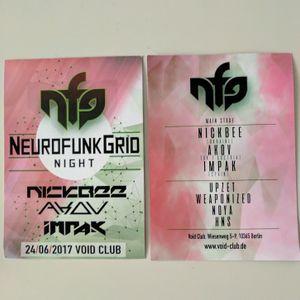 Noya D9 @ NeurofunkGrid Night - Void Berlin - 24.06.2017