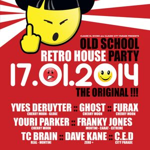 Franky Jones - old scholl retro house party (fuse) 17/01/2014