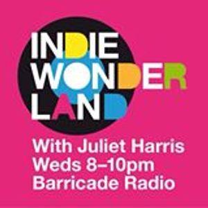 Juliet Harris Indie Wonderland 27 January 2016 Barricade Radio