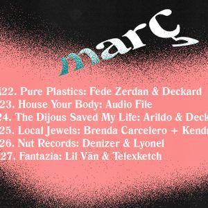 """Fede Zerdan & Deckard """"Pure Plastics""""@ Switch Pocket Club 22 Mar'16"""