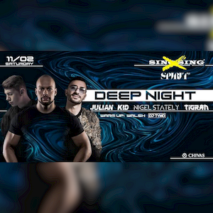 Nigel Stately x Tigran x Julian Kid x Walsh x DJ TYMO live @ Spirit BarClub, Szeged 2019.11.02.