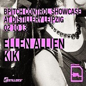 Kiki @ BPitch Control Showcase - Distillery Leipzig - 02.10.2013 - Part 2