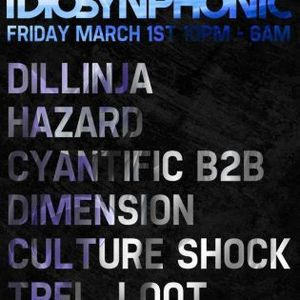 Culture Shock (RAM Records) @ Idiosynphonic, Cable - London (01.03.2013)