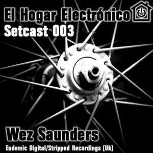 EL HOGAR ELECTRONICO - SETCAST 003 - Wez Saunders